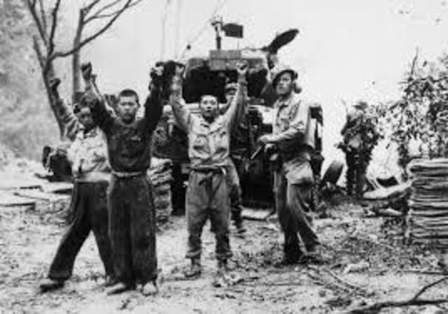US occupies Pyongyan