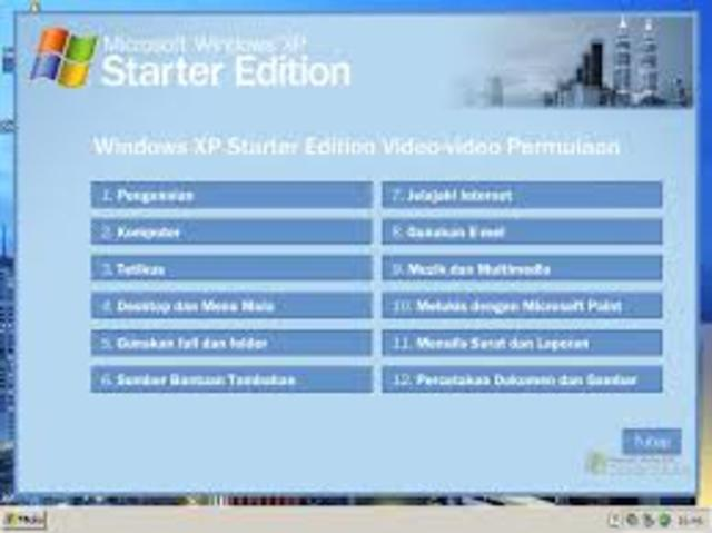 Windows XP Starter
