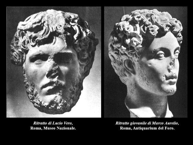 Marco Aurelio(161-180), Lucio Vero (161-169)