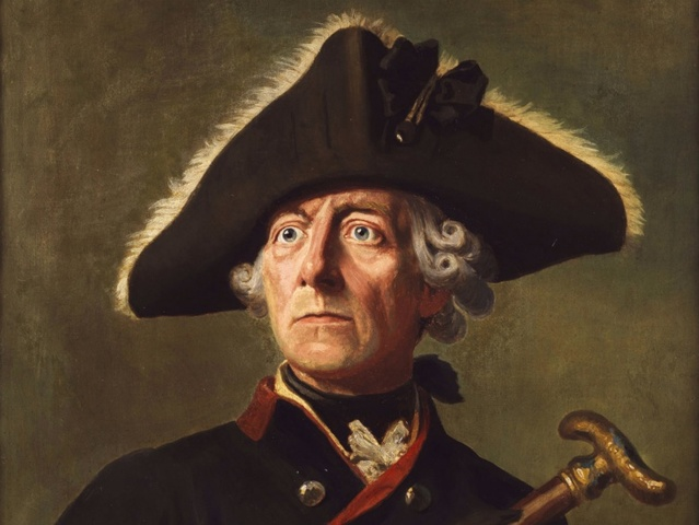 Frederick the Great takes power