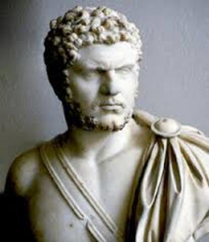 Antonio Casiano (Caracalla) 211-216
