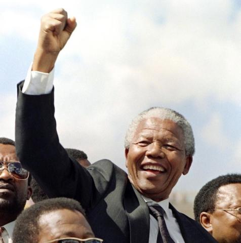 Became the First Black President of South Africa