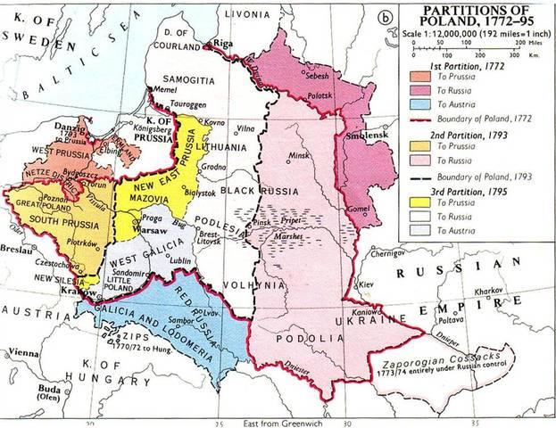 The First Partition of Poland