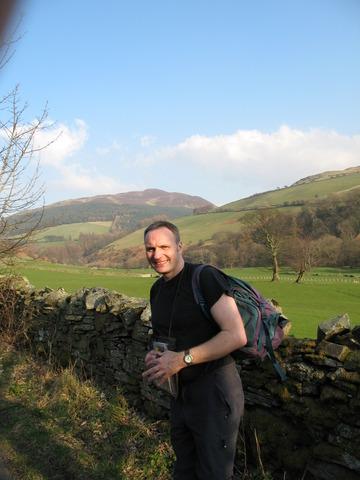 Nick Hiking Near Buttermere