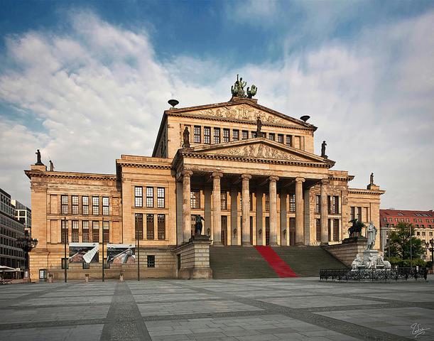 Built the Berlin Opera House