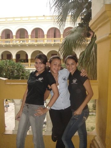 I started to study law in public university in Cartagena