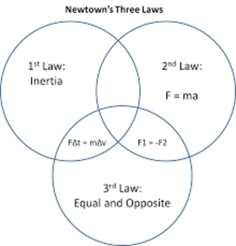Newton Discovers Three Laws of Motion