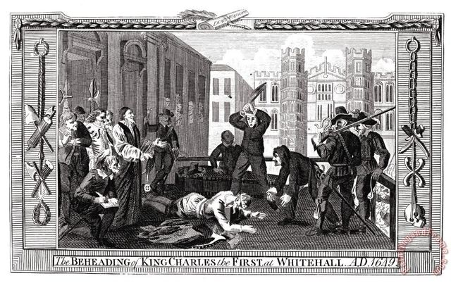 Trial and Execution of Charles I