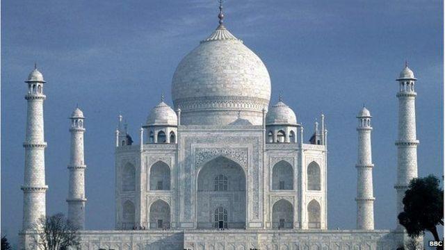 Taj Mahal Completed