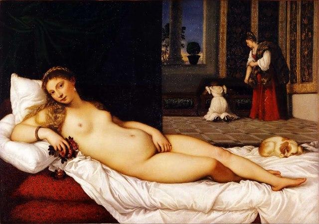 Titian created the Venus of Urbino