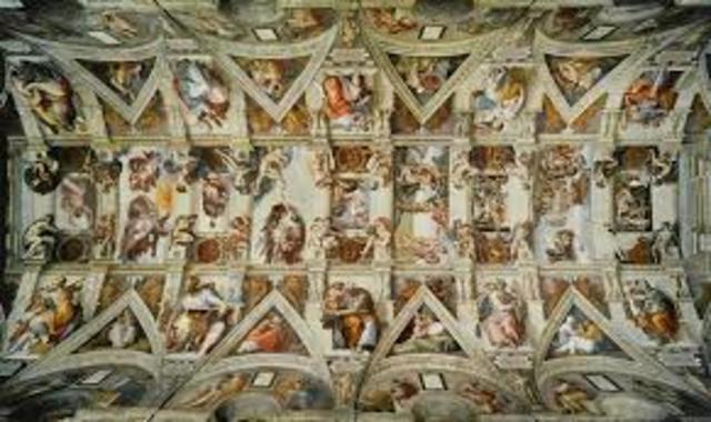 sistine chapel painting
