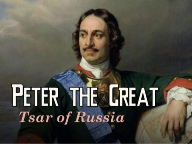 Peter Becomes Tsar