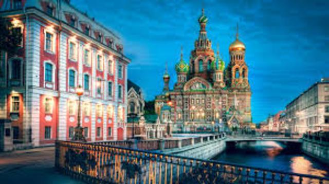 St. Petersburg is Built