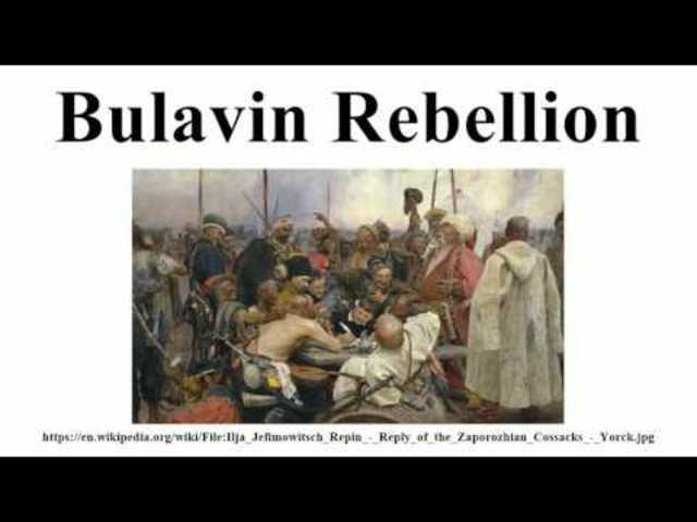 Rebellions in Russia