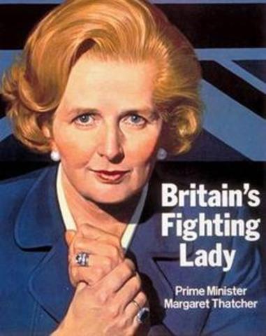 Margaret Thatcher Conservative