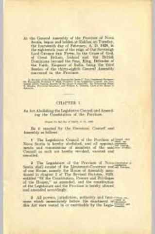 Signature of the Constitutional Act