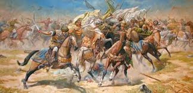 The Battle of Sajrajas