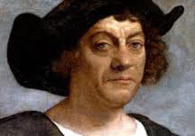 """Christopher Columbus """"Discovers"""" the Americas"""