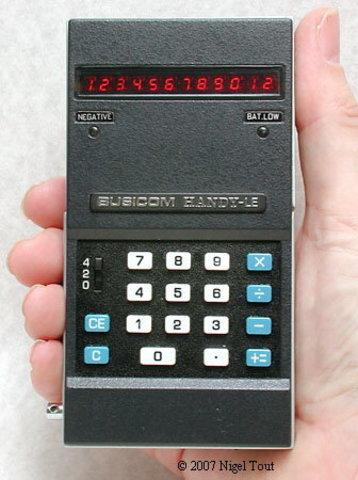 Pocket-size Calculator