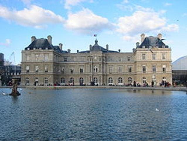 Palacios de Luxemburgo en Paris