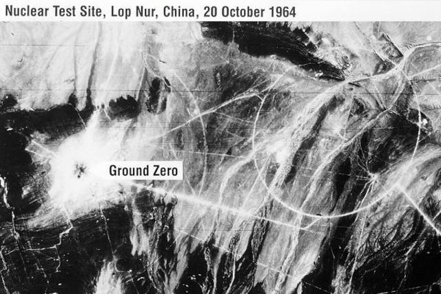 china's first nuclear test