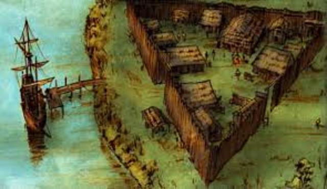 Colonies - James Town founded
