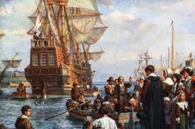Colonies - Mayflower arrives