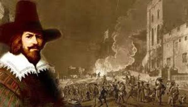 England - Gunpowder Plot