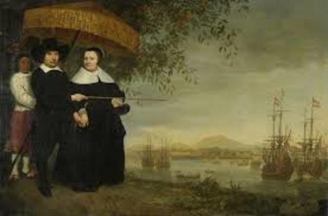 Colonies - Dutch Settle in Delware River area