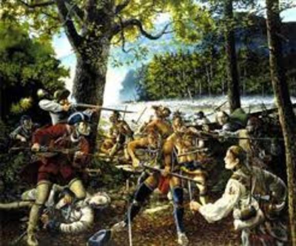 Colonies - The French and Indian War erupts