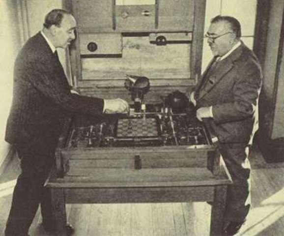 Создание электромеханического устройства для игры в шахматы