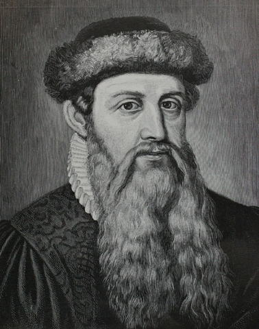 Johannes Gutenburg Creates the Printing Press
