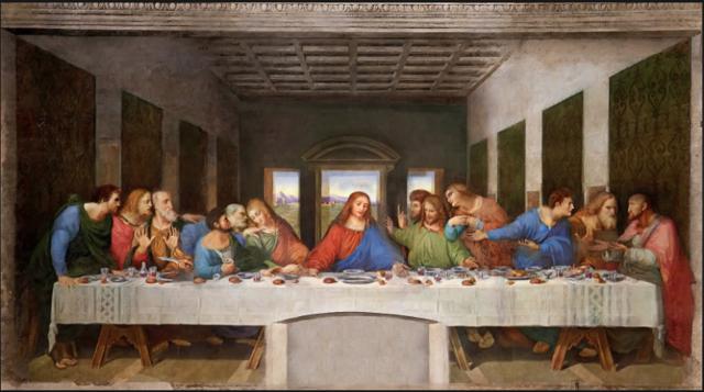 The Last Supper isn't my Last