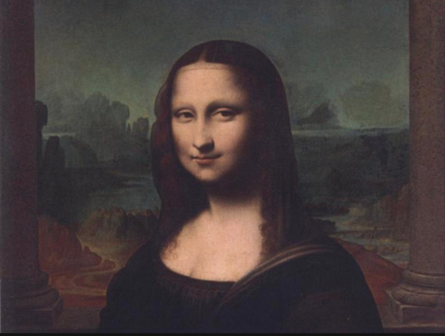 The Mona Lisa Has Arrived in the Art Gallery