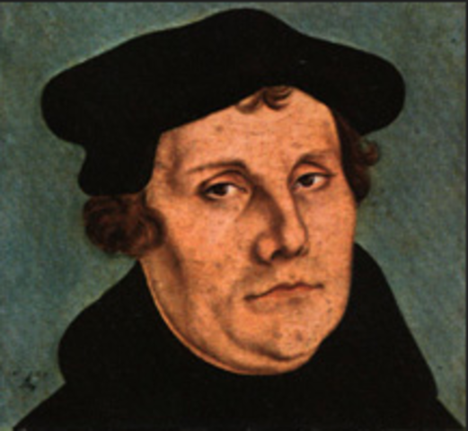 Martin Luther Stop Nailing the 95 Theses on my Church Door!