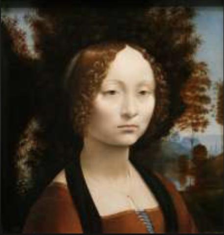 Ginevra de Benci, Another Painting by Leonardo da Vinci