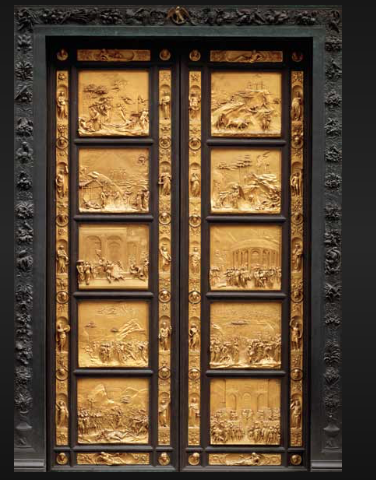 Lorenzo Ghiberti's Gates of Paradise