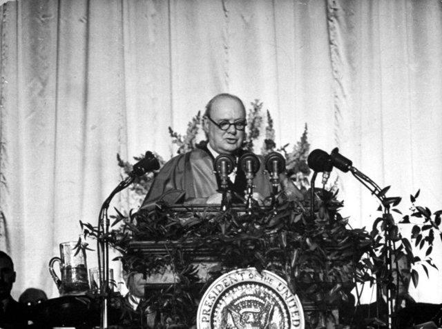 Iron Curtain Speech