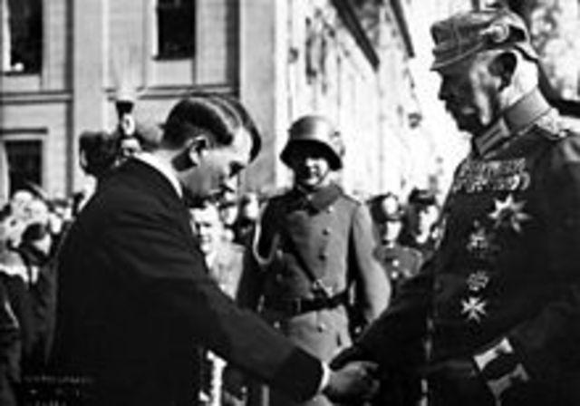Adolf Hitler appointed as chancellor
