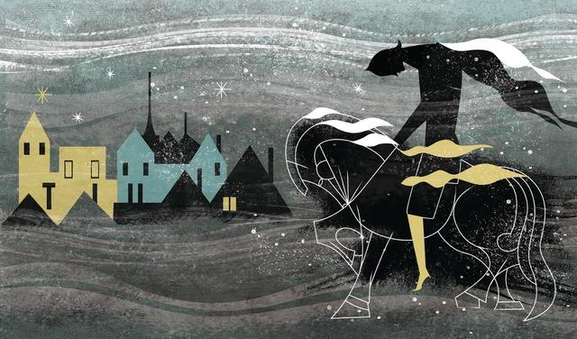 Chegada à aldeia dos lenhadores