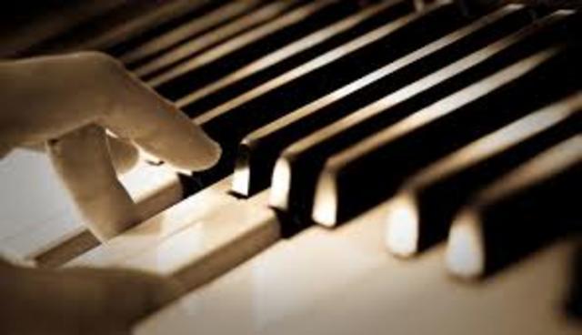 I learned piano.