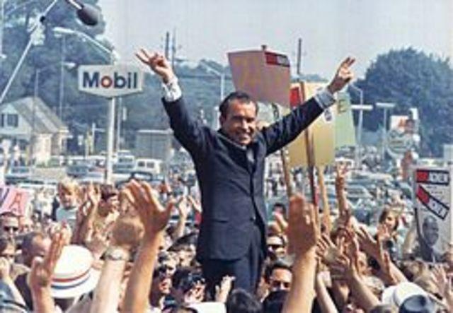 Election of Richard Nixon