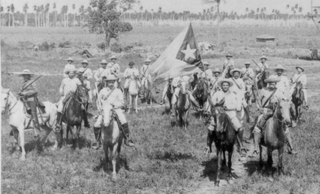 Levantamiento  independentista en Cuba