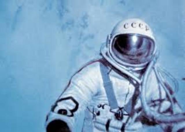 First Space Walk