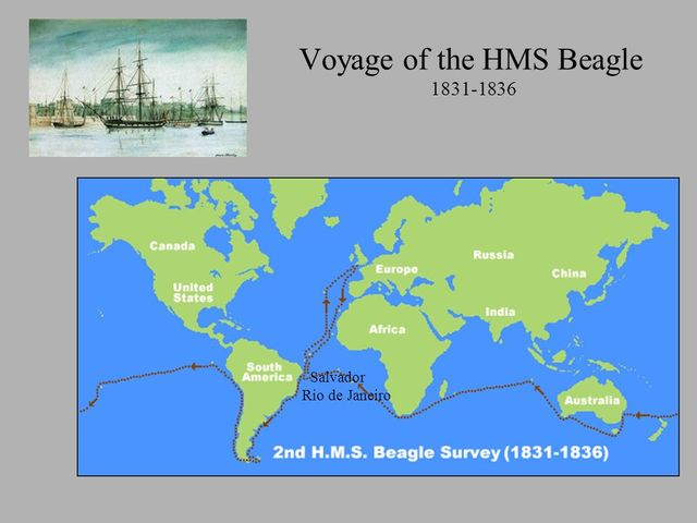 Dec. 27th, 1831-  The Voyage of the HMS Beagle