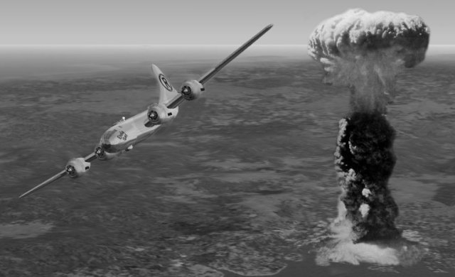 Aug. 6th, 1945-  The first atomic bomb is used in war