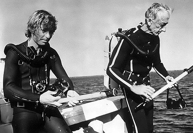 Jacques Cousteau develops SCUBA