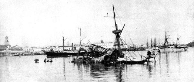 Explosión del acorazado ''Maine''