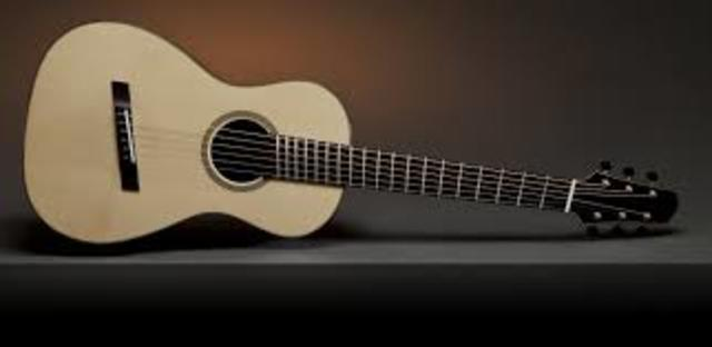 Learning experiences in playing guitar