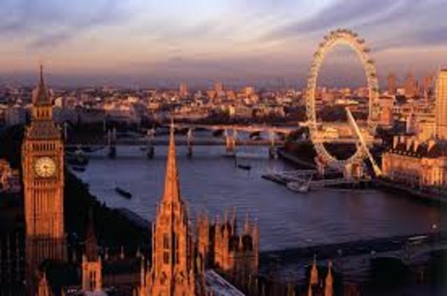A school trip to London
